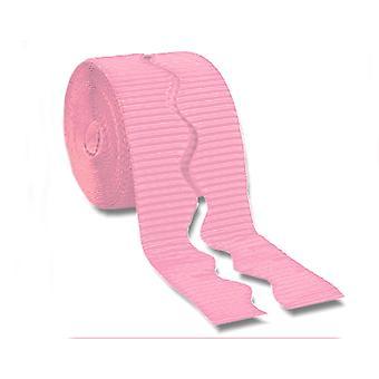 Mid Pink 15.2m Corrugated Card Bordette Border Roll | Classroom Display Border
