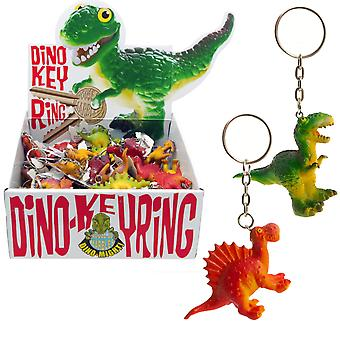 LAST FEW - Dinosaur Keyring - Various Designs - Cracker Filler Gift