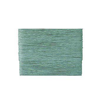 20m lyseblå vokset bomull 1mm streng for threading håndverk   Ledning og elastisk