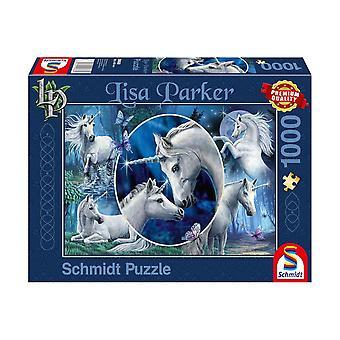 Lisa Parker: Mythical Unicorns 1000 Piece Jigsaw Puzzle