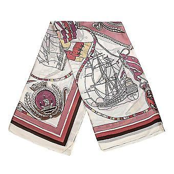 Bufanda temática de mar - Rojo, No. 6