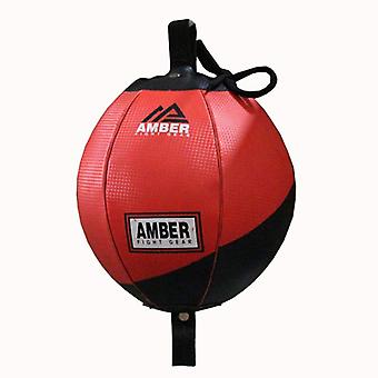 """Amber Fight Gear Boxing MMA Muay Thai Fitness Workout Training Punching Speed Double End Bag 7"""""""
