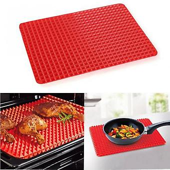 Thin Safe Food-grade Silicone Cooking Tray Non Stick Silicone Baking Mat