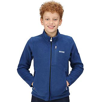 Regatta Boys Marlin Vii Fuld Zip reflekterende fleece jakke