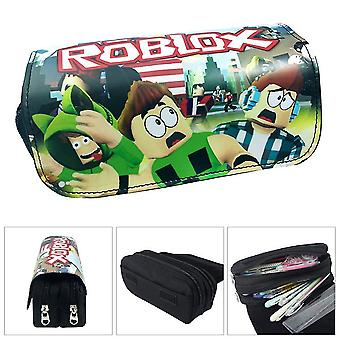 ROBLOX children's double-layer pencil case large capacity(Color-4)