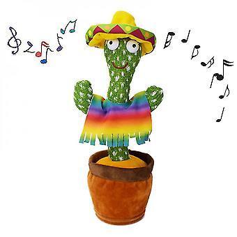 Dancing Cactus Stralucitoare Talking Cactus jucărie de înregistrare repetă ceea ce spui