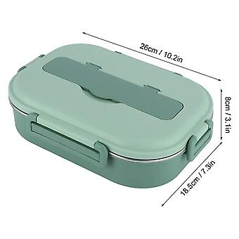 1 Piece Stainless Steel Lunch  Portable Bento Box Food Storage Container For