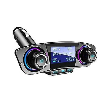 Mp3 players car bluetooth fm transmitter wireless handsfree audio receiver auto mp3 player 2.1A dual usb fast