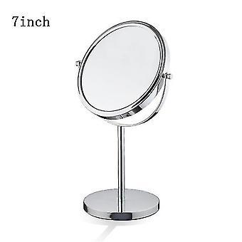 Piano tavolo 3x specchio per il trucco cordless doppio lato specchi di ingrandimento cosmetici per bagno o