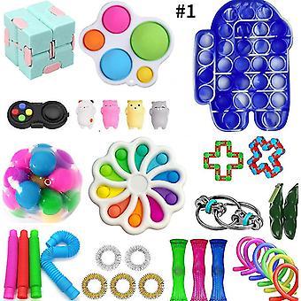 Fidget Sensory Toys Set Kit Stress Relief Toys