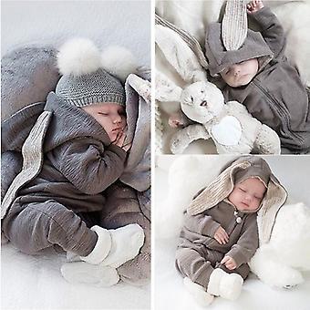 Осень Зима Малыши Девочки Мальчики Одежда для Новорожденного Малыш комбинезоны Для малыша Комбинезон Рождественский костюм Детская одежда