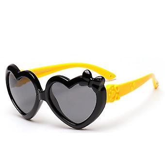 Solglasögon för tecknad hjärtform för barn