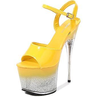 Anter kvinners sandaler-høy hæl gradient sandaler