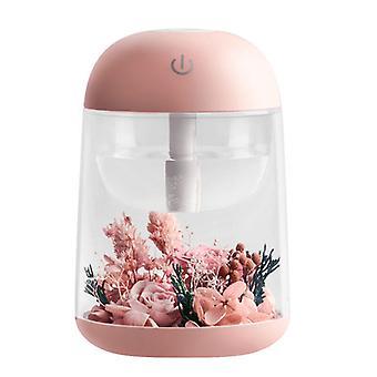 Caraele 180ml Eternal Flower Humidifier Four-color Lamp Second Gear