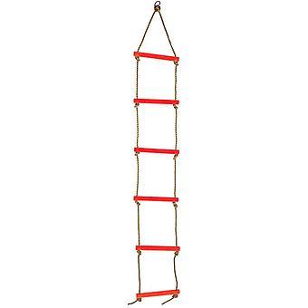 Children's Rope Ladder Swing Six-speed Plastic Climbing Ladder,color
