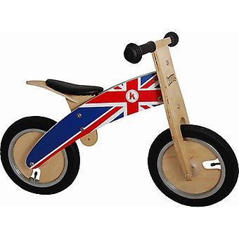 Kiddimoto Kurve- Bike Union Jack