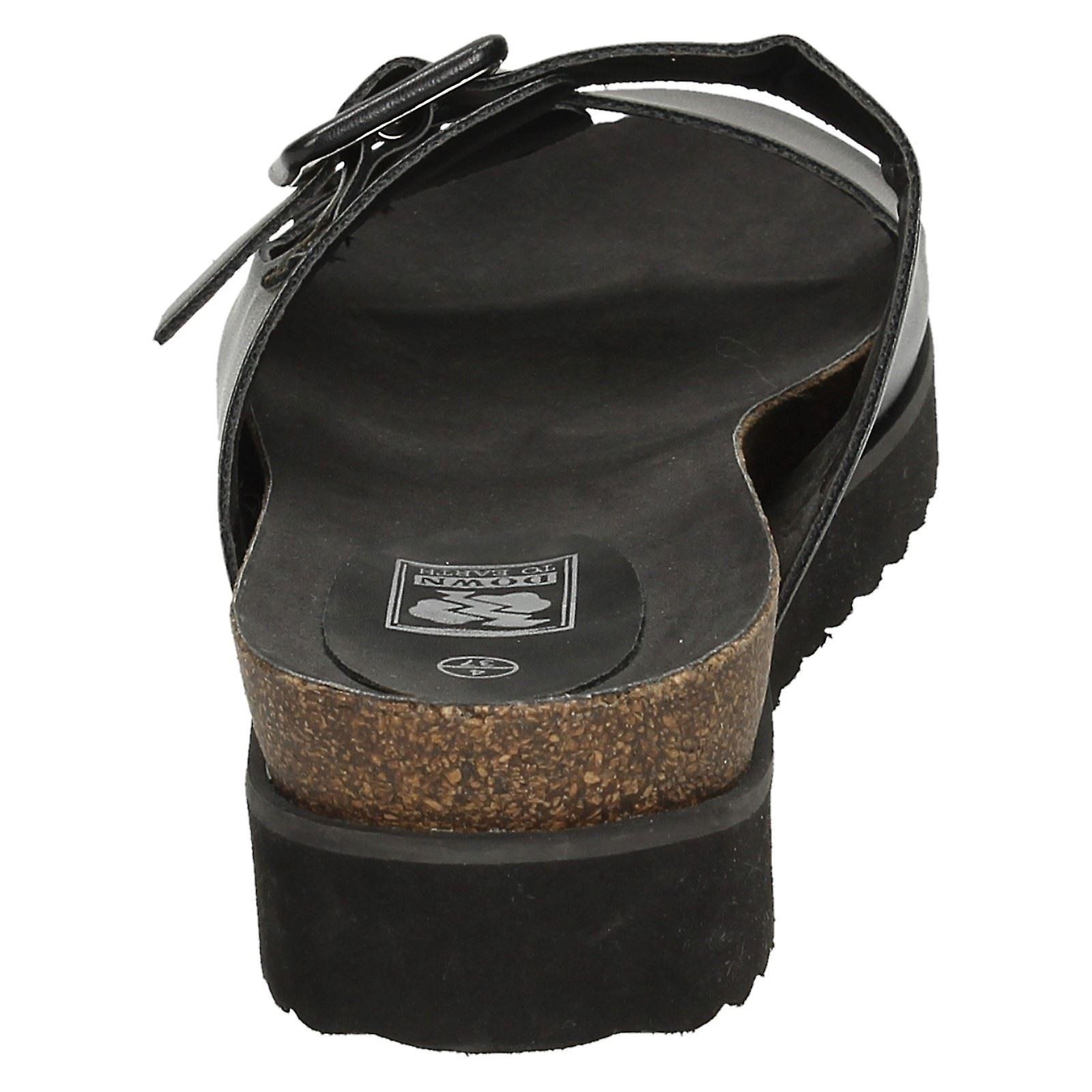 Dames tot aarde dikke enige sandalen - Gratis verzending M8C7DL