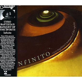 Cyro Baptista & banket van de zintuigen - Infinito [CD] USA import