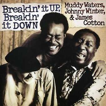 Muddy Waters - Breakin' det upp Breakin ' It Down [CD] USA import