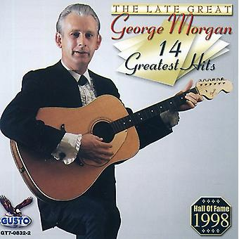 George Morgan - 14 Greatest Hits [CD] USA import