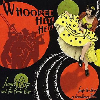 Janet Klein & Her Parlor Boys - Whoopee Hey! Hey! [CD] USA import