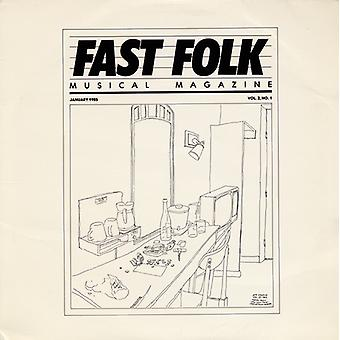 Magazine Musical rapide Folk - Vol. 2-Fast Folk Magazine Musical (1) importer des USA [CD]