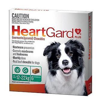 Heartgard Plus pureskella vihreä 6 Pack