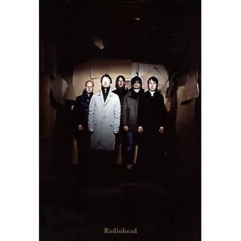 Radiohead - grupp skott affisch affisch Skriv