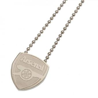 Arsenal Stainless Steel Pendant & Chain