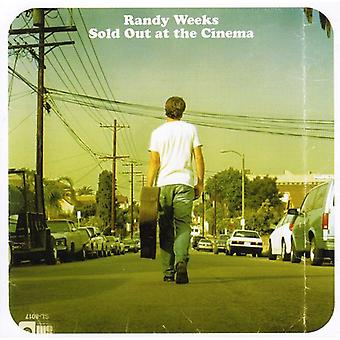 Randy Weeks - Sold Out at the Cinema [CD] USA import