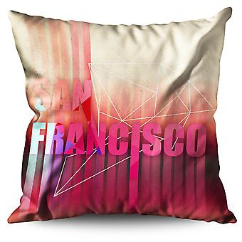 San Francisco Linen Cushion 30cm x 30cm | Wellcoda