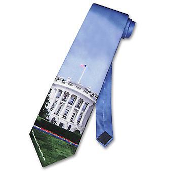Huis van 100% zijde stropdas huis van Voorzitter mannen nek Tie