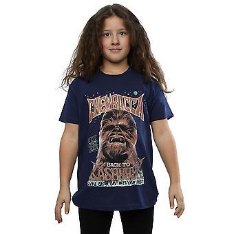 Star Wars Chewbacca Rock Poster T-Shirt für Mädchen