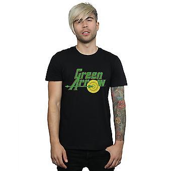 DC Comics flèche verte Crackle Logo T-Shirt homme