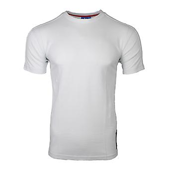 Adidas Originals bestickt Mens White T-Shirt AZ6366