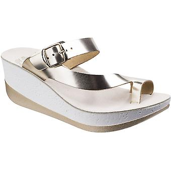Fantasie Womens/dames Felisa Buckle Up zomer Platform wig sandalen