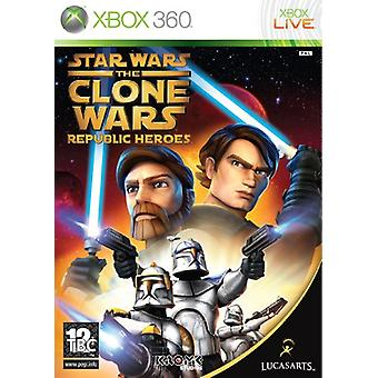 Star Wars The Clone Wars - Republic Heroes (Xbox 360) - New