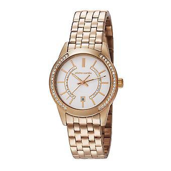 Pierre Cardin ladies watch wristwatch TROCA LADY Rosé PC106582F08