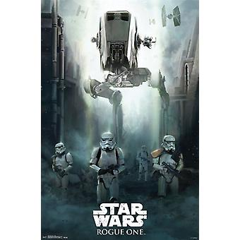 Star Wars Rogue One� - Siege Poster Print