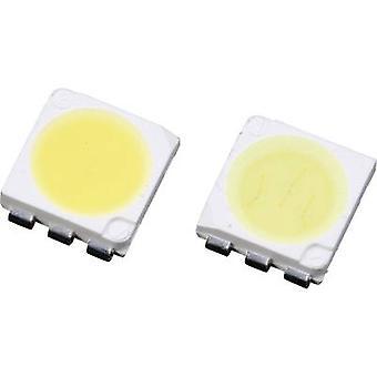 Lumimicro LMTP553AWZ Si SMD LED PLCC6 Amber white 7500 mcd 120 ° 20 mA, 20 mA, 20 mA 2.8 V, 2.8 V, 2.8 V