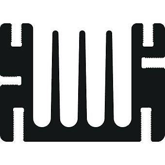 Fischer Elektronik SK 68 90 SA Heat sink 3.6 K/W (L x W x H) 90 x 46 x 33 mm SOT 32, TO 220