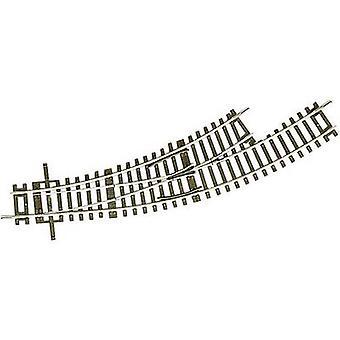 42464 H0 RocoLine (w/o-Rail bed) gebogen punt, links 30 ° 358 mm