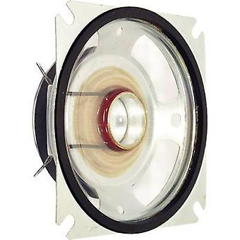 Visaton SL 87 WPM 3,3 tuumaa 8 cm Laajakaistakaiutin kotelo 20 W 4 Ω
