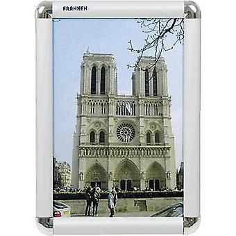 Franken BS0701 Picture frame Transparent, Silver (W x H x D) 240 x 327 x 12 mm A4