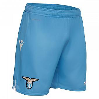 2018-2019 Lazio Macron huis Shorts (blauw)