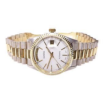 14 k bicolor Geneva Watch