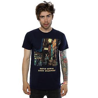 T-shirt de Ziggy Stardust David Bowie masculino