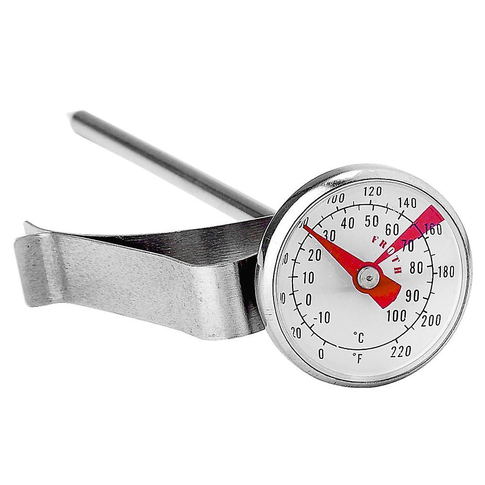 Kitchen Milk Frothing Stainless Steel Thermometer