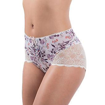 Aubade MA24 Women's Femme Artiste Floral Lace Full Panty Highwaist Brief