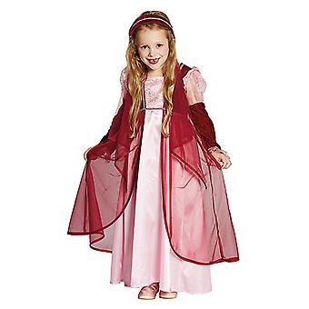 Märchenprinzessin Kleid Kostüm für Mädchen rosa